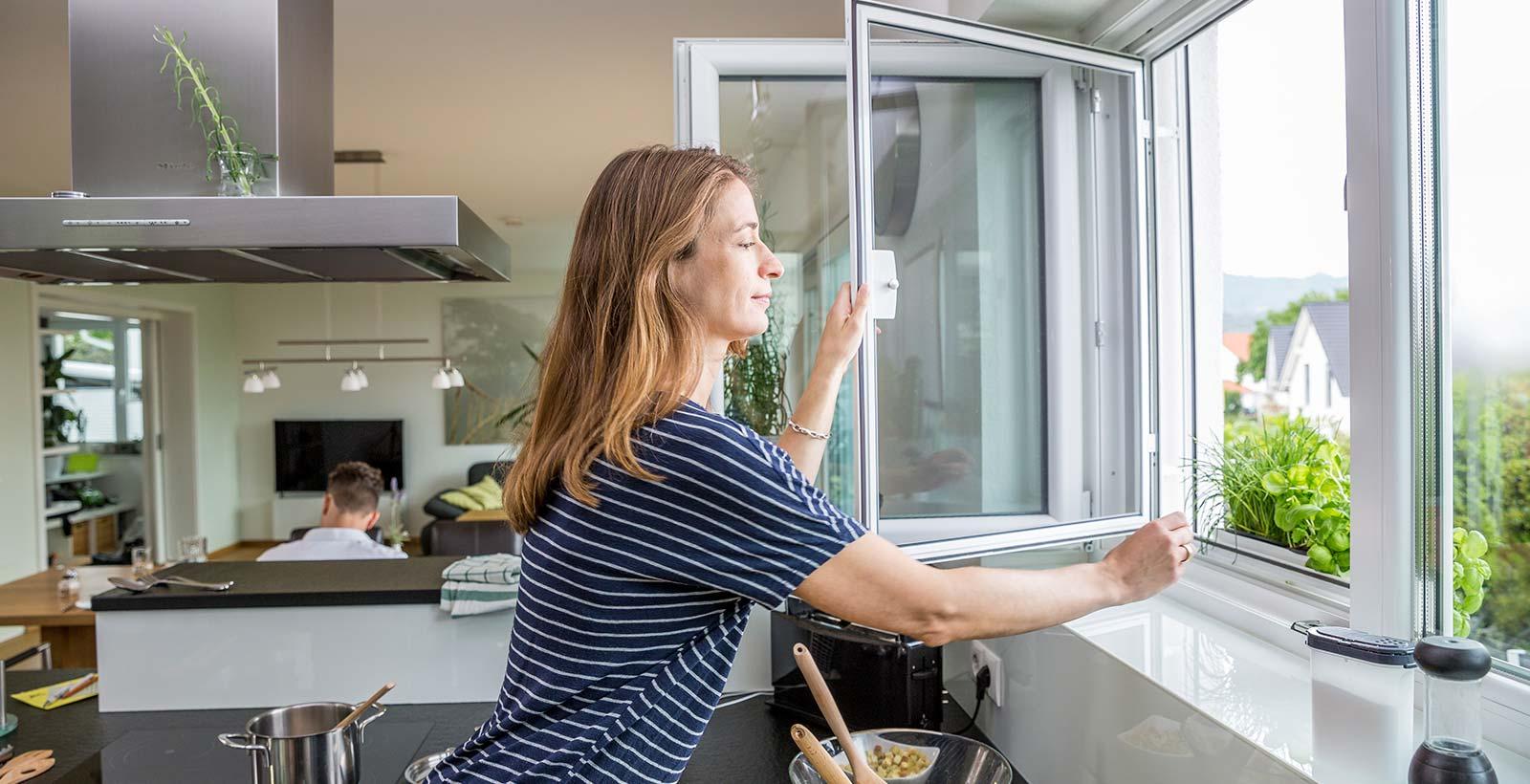 NEHER Drehrahmen für Fenster