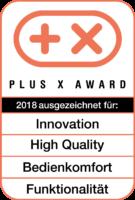 PLUS X AWARD 2018